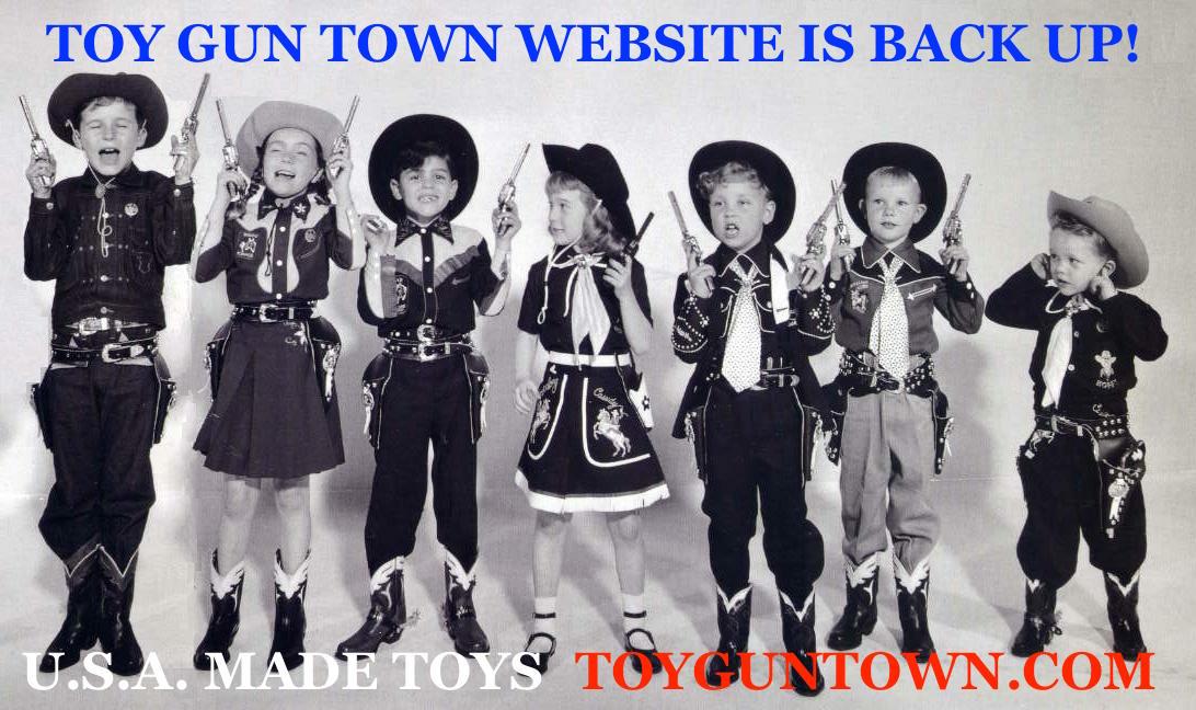 Wild West Toys U S A American Made Western Toy Cap Gun