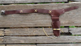 Leather Toy Cap Gun Holsters