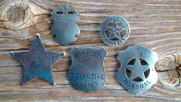 Old West Badges Reproductions for sale