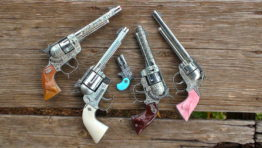 Toy Cap Gun pistols for sale made in U.S.A.